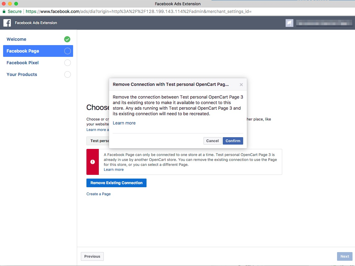 Ready to get started with Facebook for OpenCart?