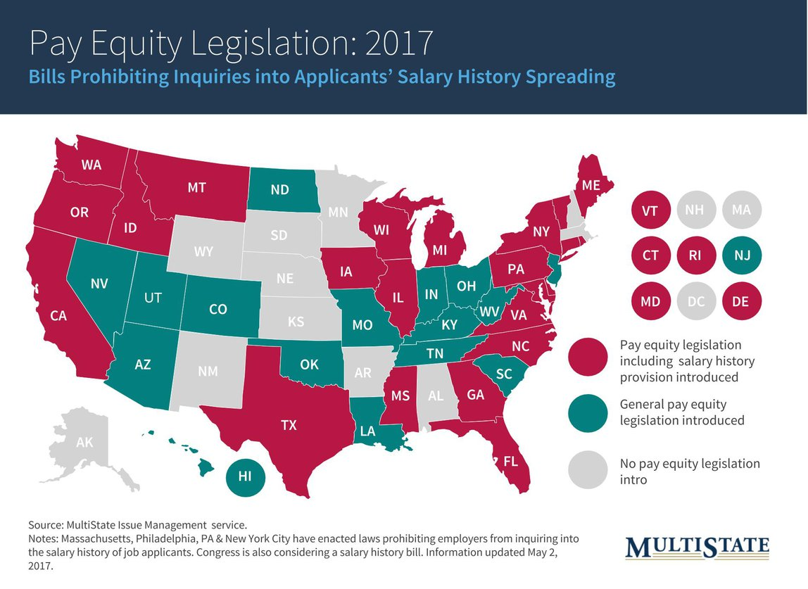 2017 Pay Equity Legislation