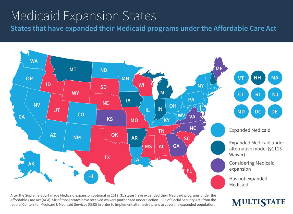 Medicaid Expansion Debate Reignites In The States